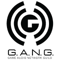The Game Audio Network Guild (G.A.N.G.) logo